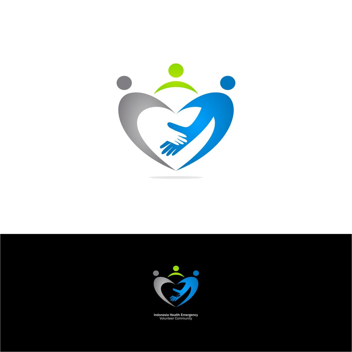 Desain Logo Organisasi Relawan Emergensi Kesehatan Indonesia