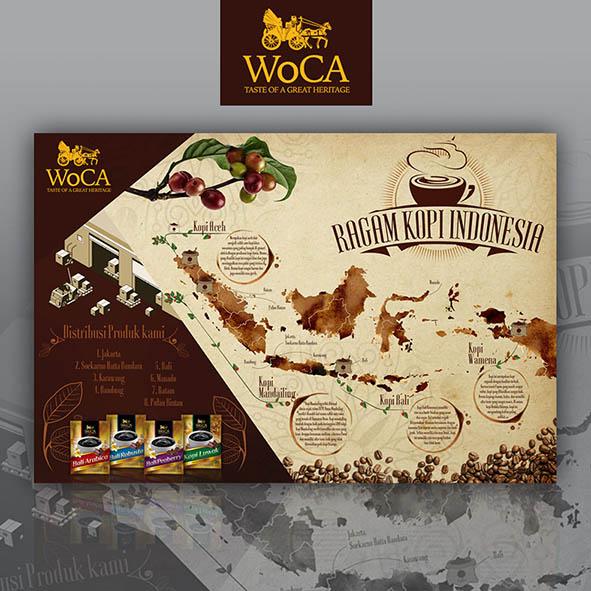 Paling Inspiratif Contoh Desain Pamflet Kopi Indonesia