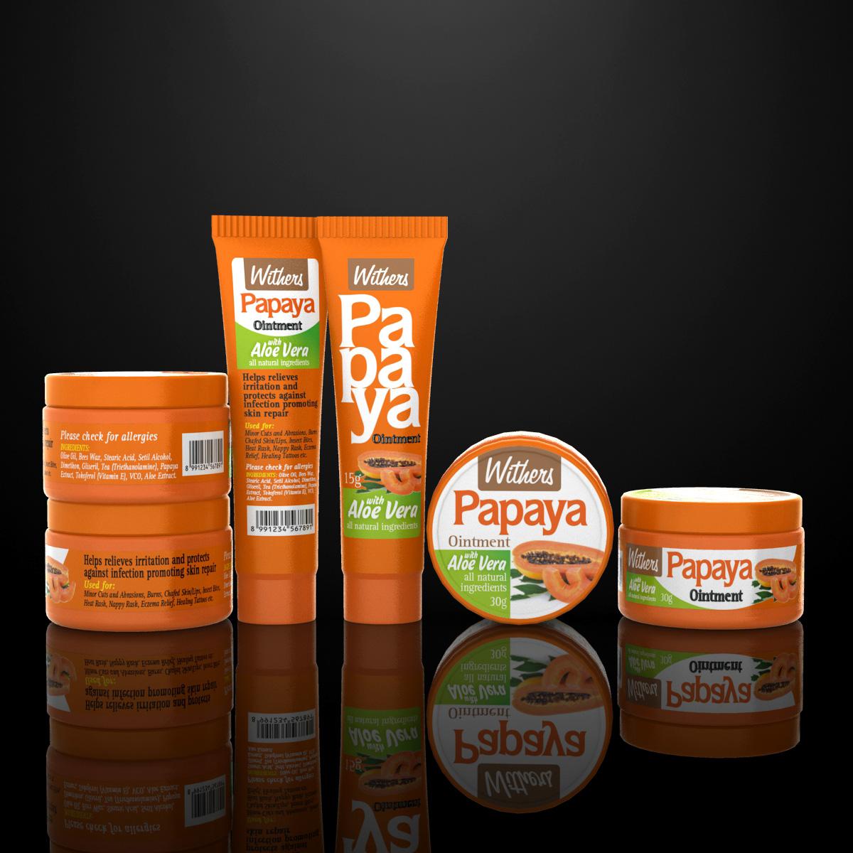 jasa desain label sari papaya