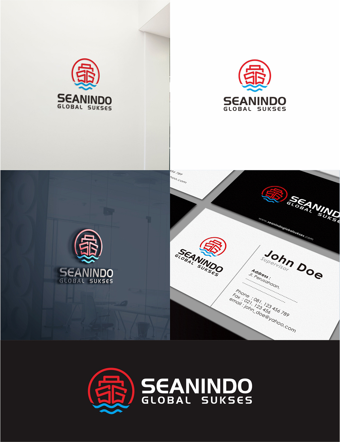 Desain Logo & Stationery for Cargo company