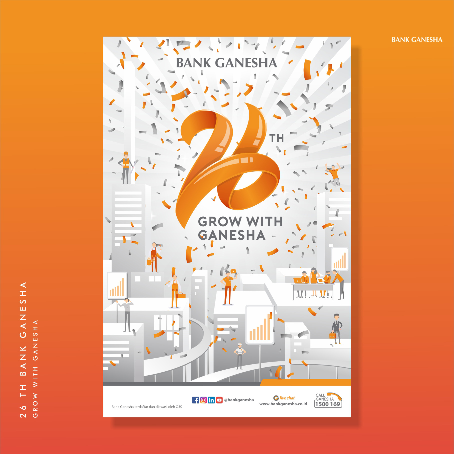 Bank Ganesha 26th Graphic Design Posters Contest