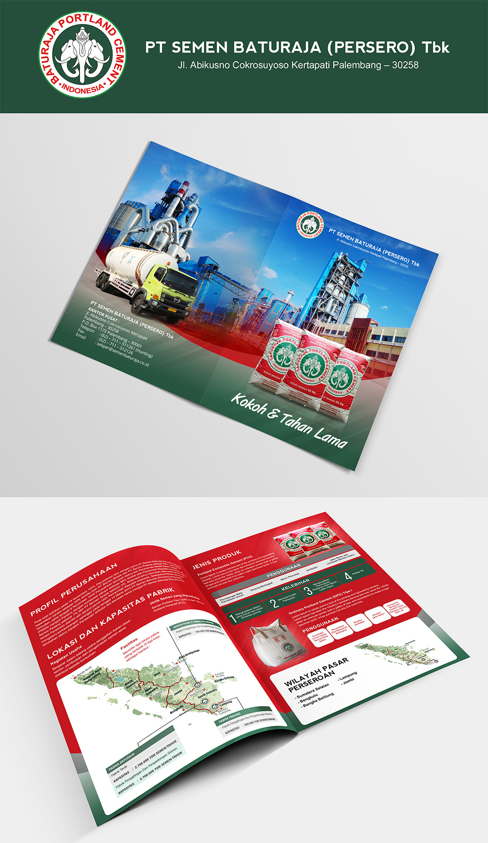 Brochure Design Services for Cemen Products