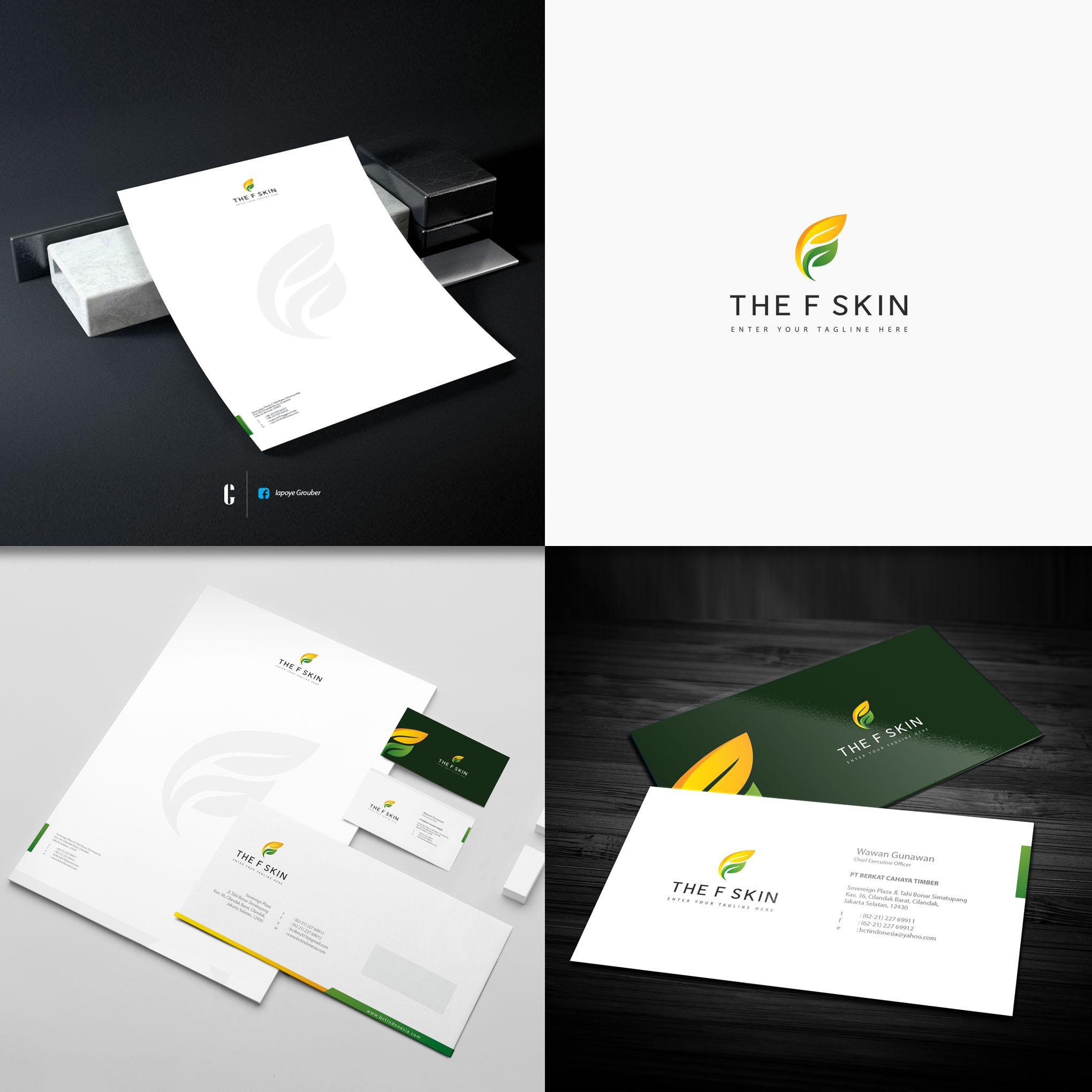 Desain Logo&Stationery Untuk Klinik Estetik