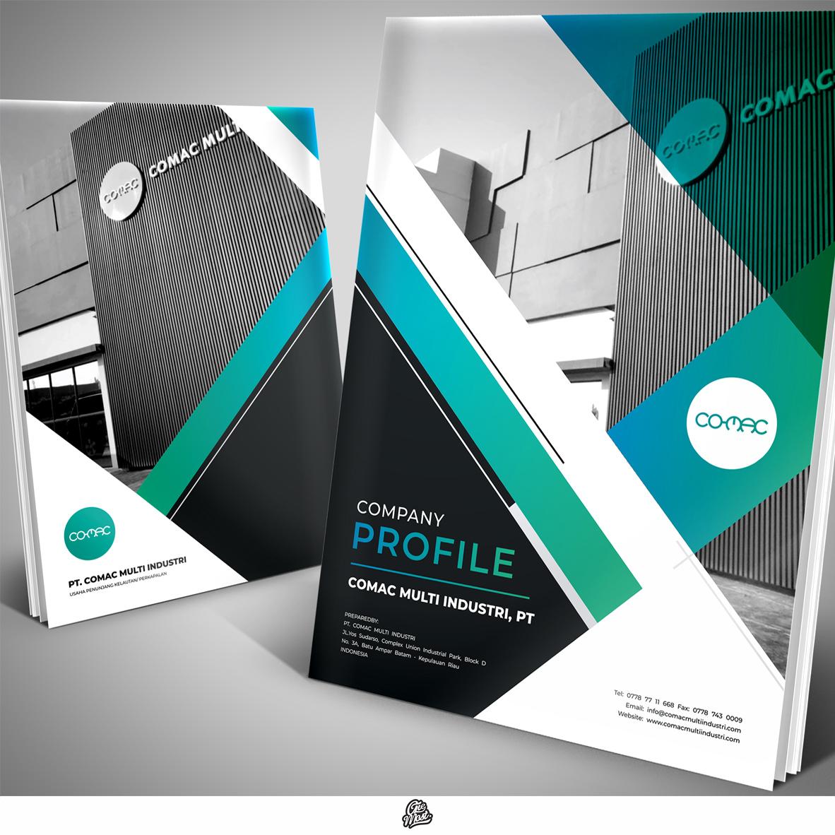 Desain Company Profile Untuk Perusahaan Cathodic