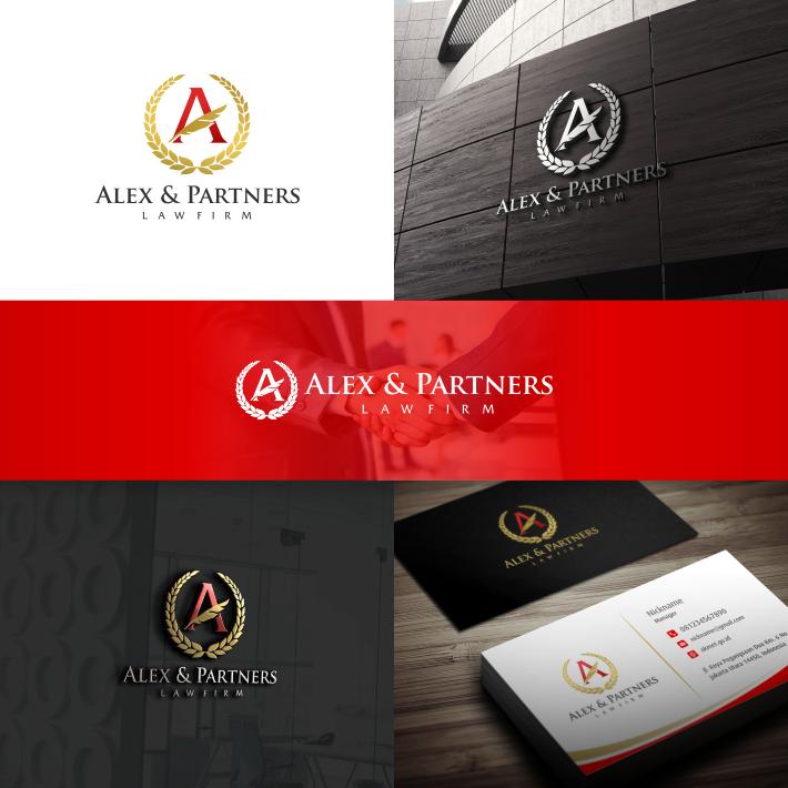 Desain Logo dan Stationary untuk Kantor Advokat