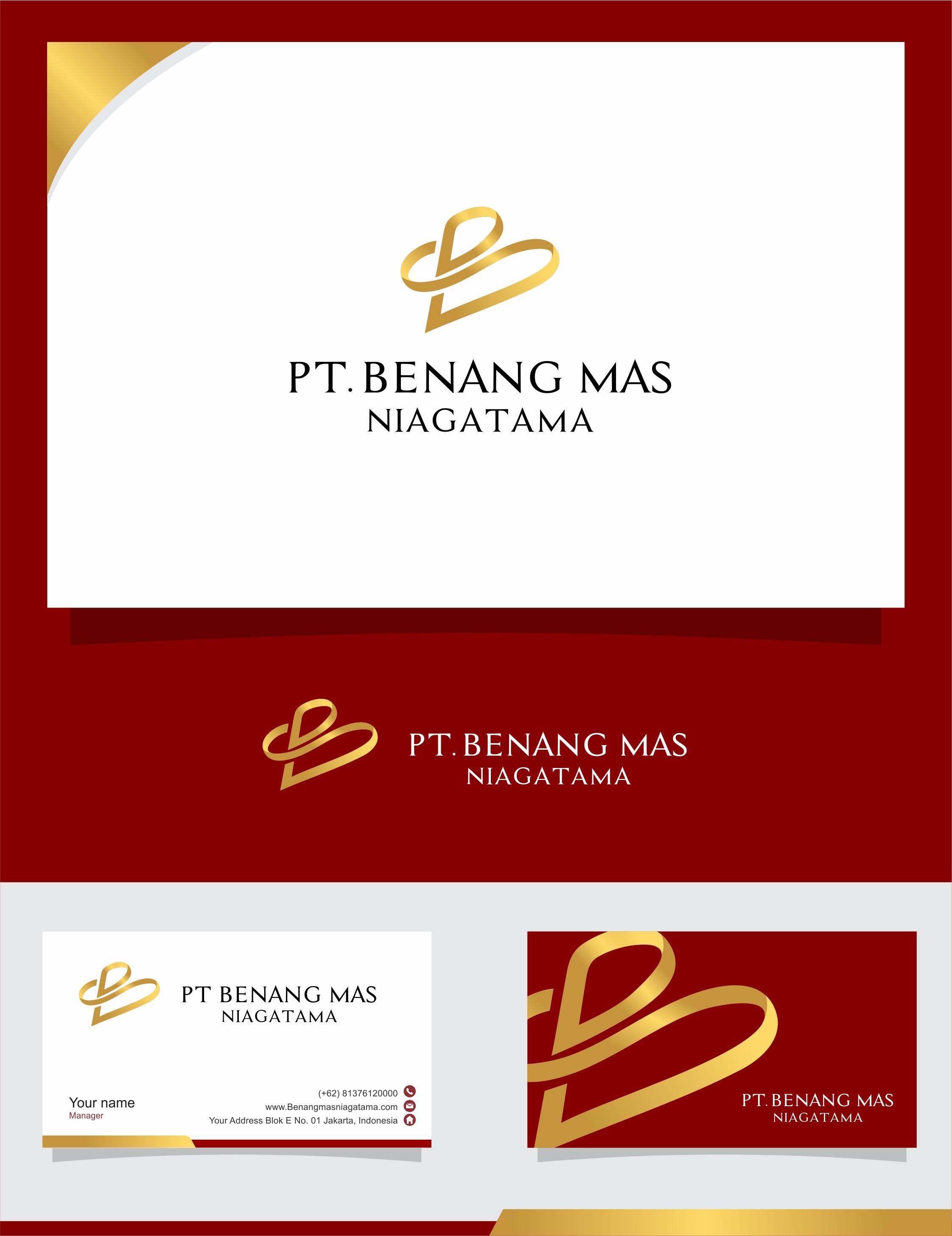 Desain Logo dan Stationary Untuk PT. Benang mas Niagatama