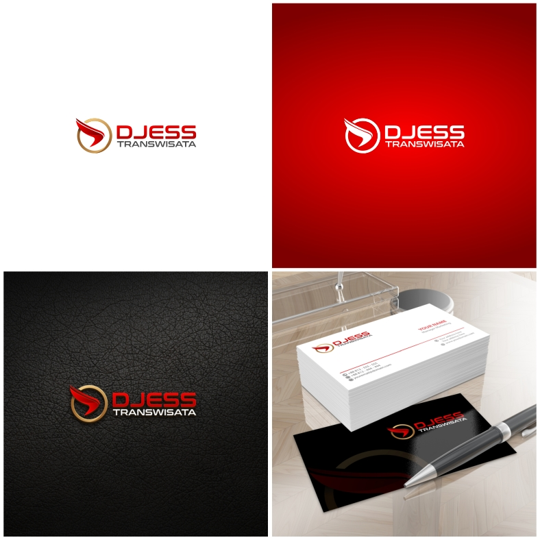 Desain Logo dan Stationery DJESS TRANSWISATA