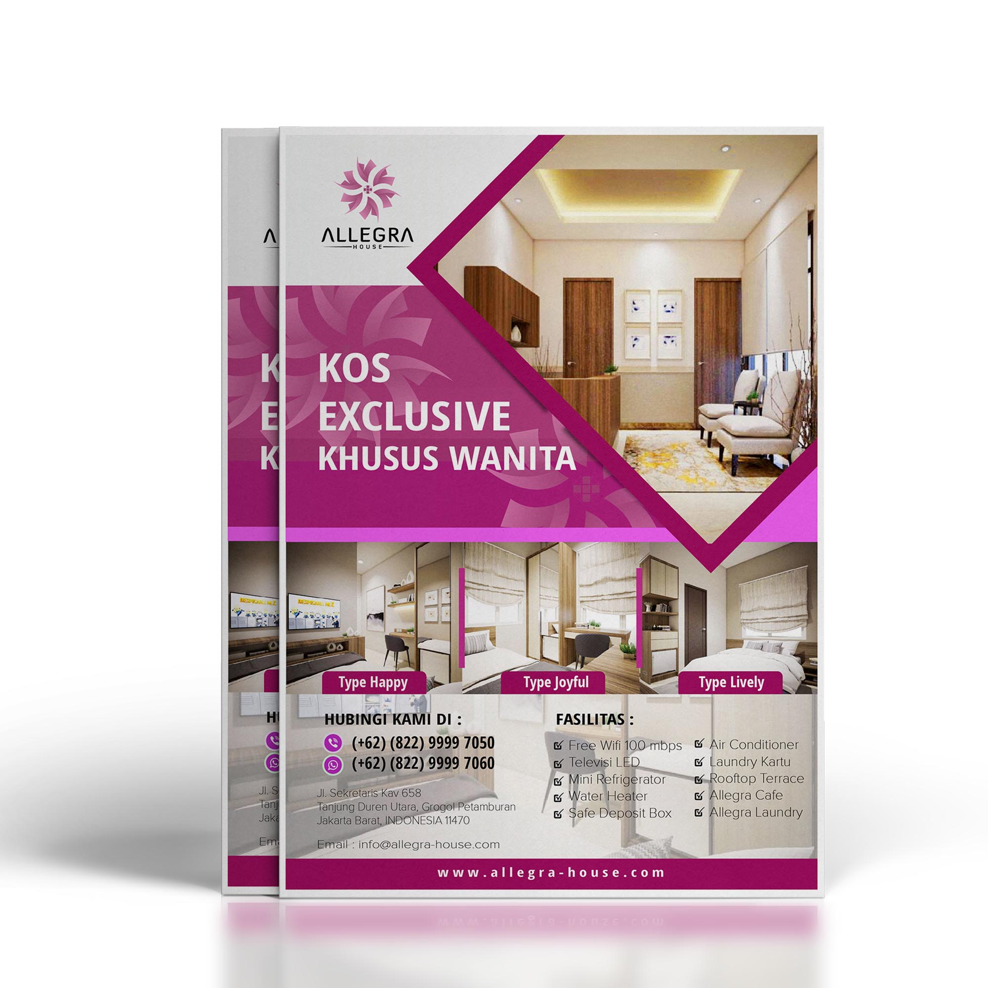 Executive Estate Brochure Design Service