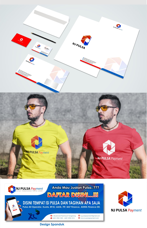 Desain Logo dan Stationery untuk Perusahaan Jual Pulsa