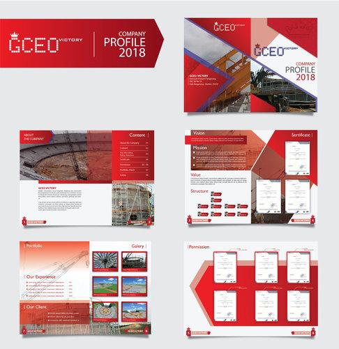 Kontruksi: Sribu: Internet Company Profile Design Service