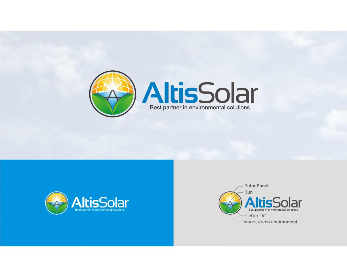 Sribu: Logo Design - Logo Design for Environmental Solar Ene