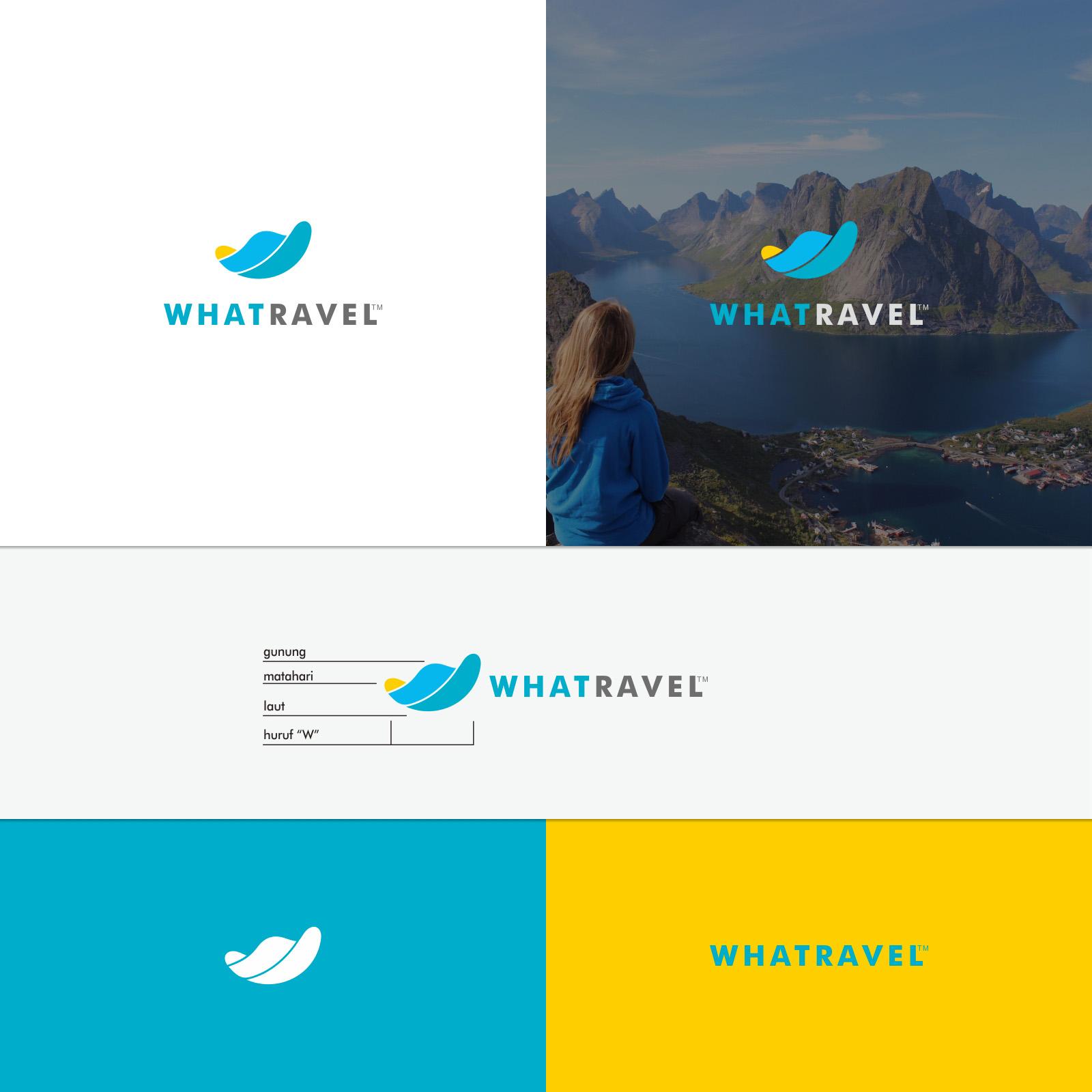 Desain Logo Komunitas Travel