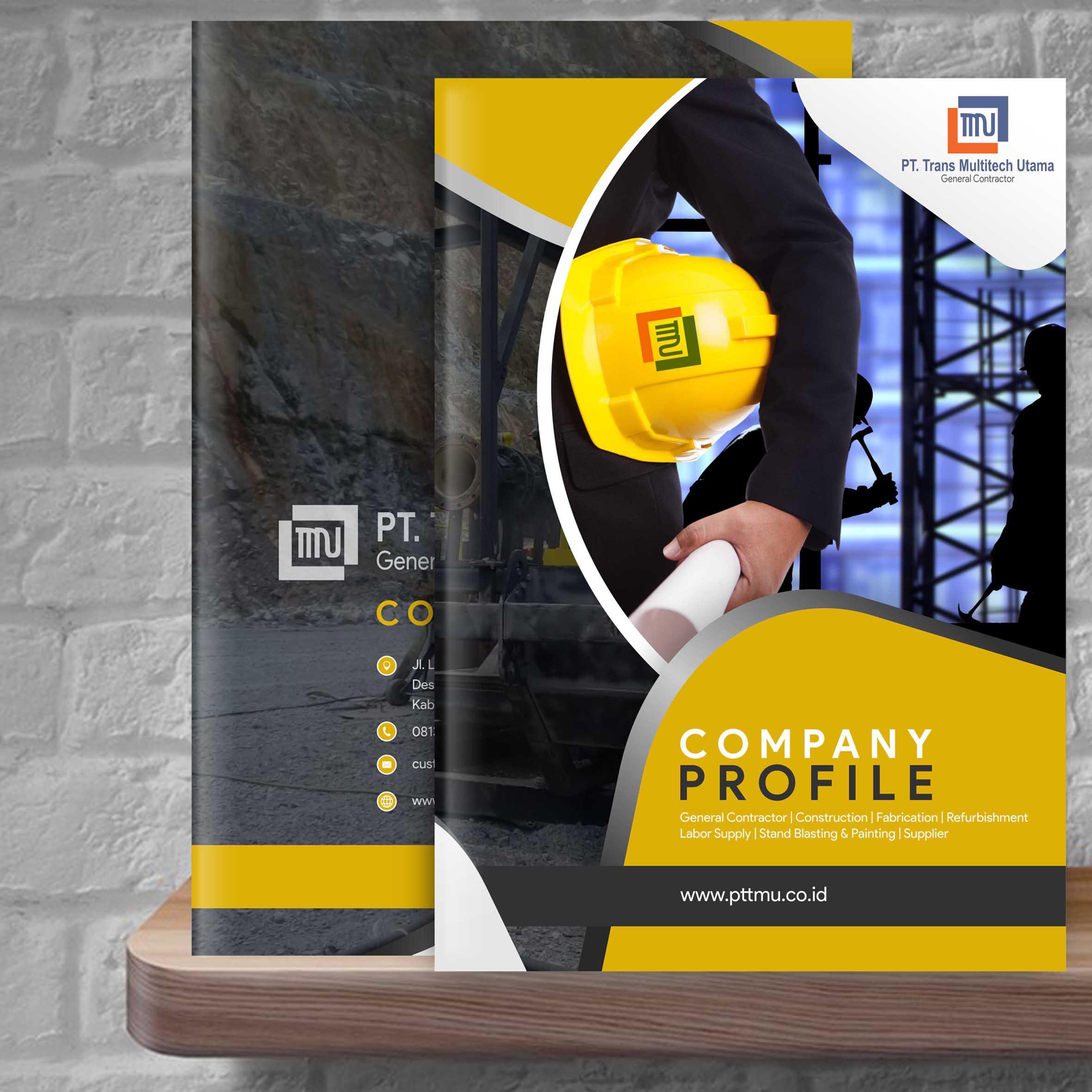 Sribu: Company Profile Design - Desain Company Profile untuk