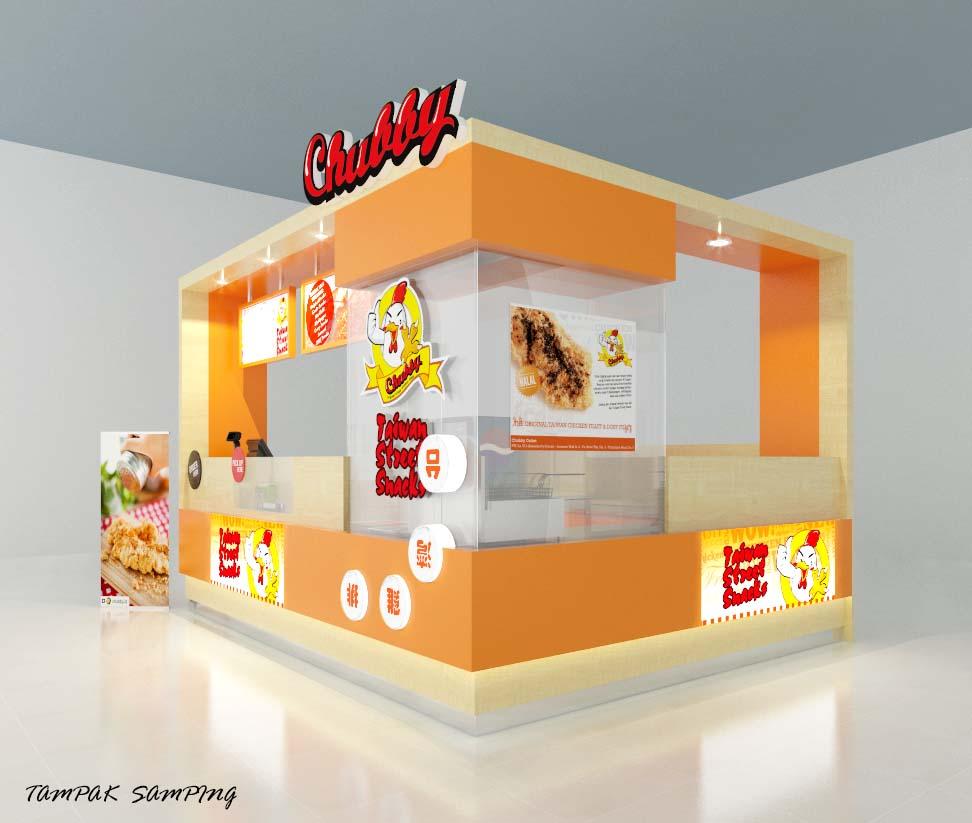 Gallery | Design Booth untuk Food Kiosk Mall (Island/Open Co