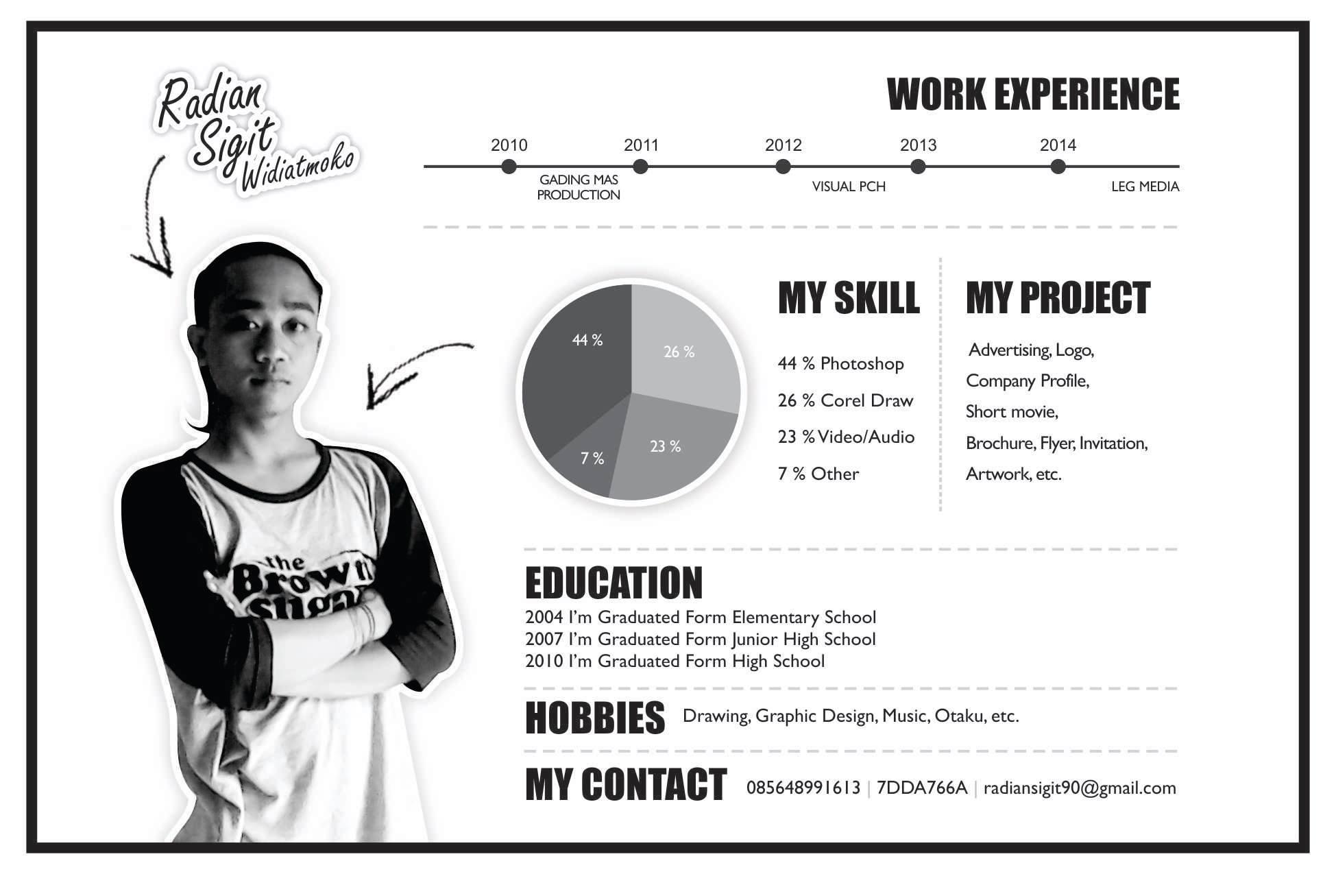 Curriculum vitae   resume