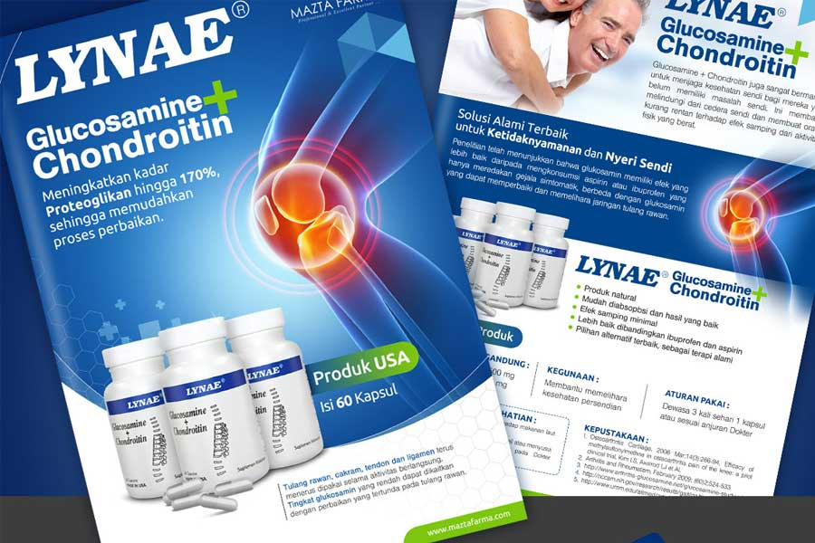 Brochure Design Services for Supplement Products