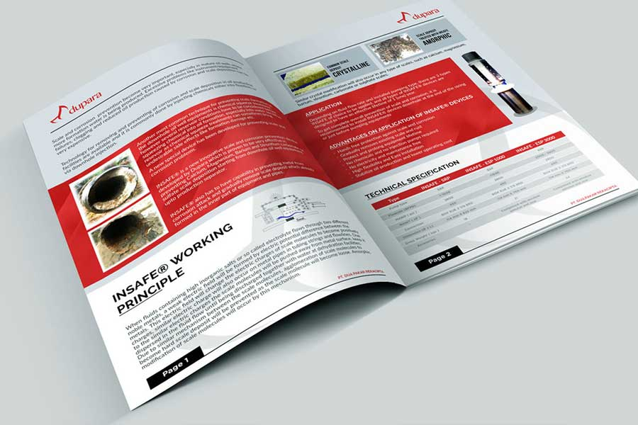 steps in making a brochure