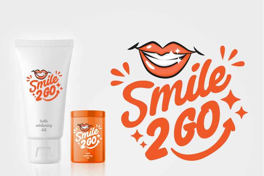 Desain Logo Smile 2 Go