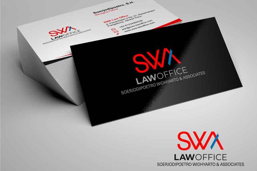 Jasa Desain Logo SWA Law Office