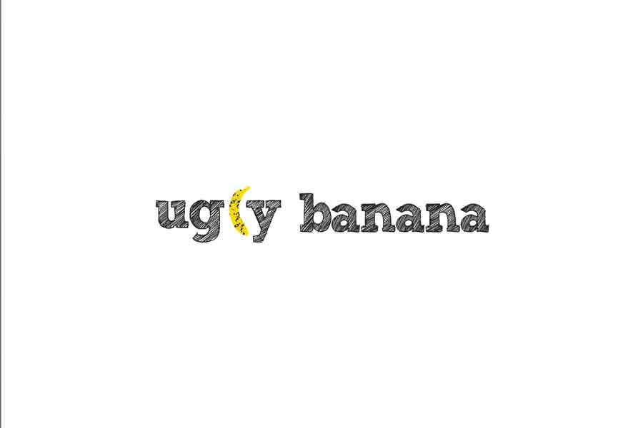 Desain Logo Ugly Banana