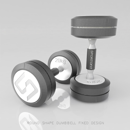 Desain Produk Dumbell Fix