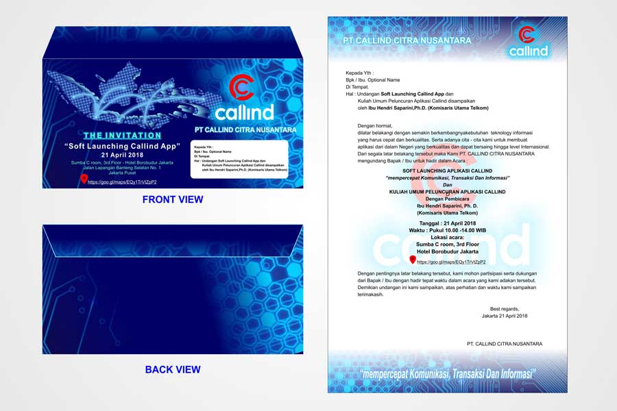 Formal Invitation Design Services