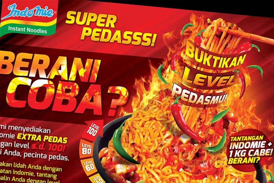 Indomie Poster Design Services